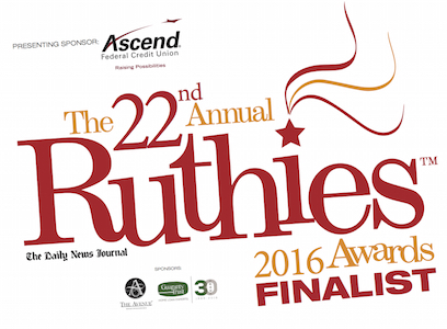 Ruthies 2016 finalist